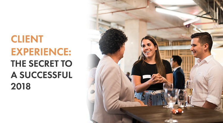 If you are a smaller firm looking to excel in 2018, you need to invest in your client experience