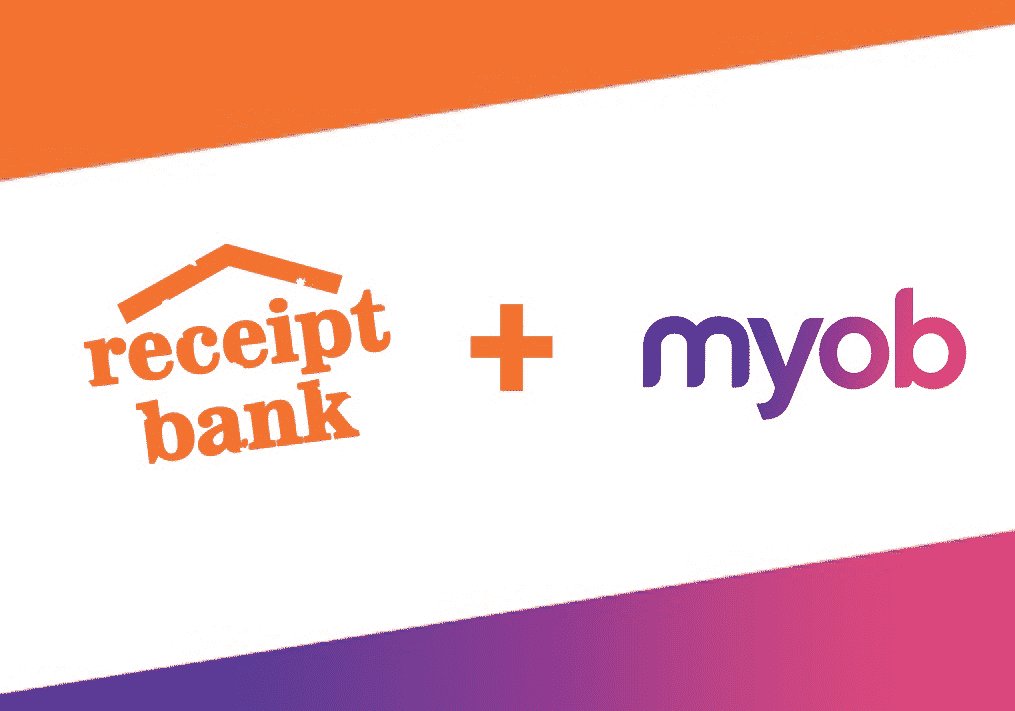 New Integration: Receipt Bank now integrates with MYOB AccountRight