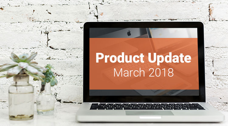 March-Product-Update
