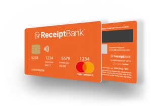 The Receipt Bank MasterCard™ is the easiest way to keep track of your business expenses.