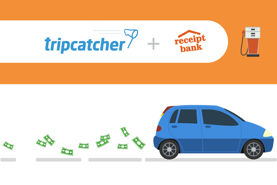 MILEAGE EXPENSE CLAIMS FROM TRIPCATCHER NO LONGER COUNT TOWARD RECEIPT BANK USAGE